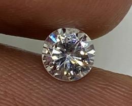 (11) Cert $1468 Precious 0.56cts VS1 Nat White Round Loose Diamond