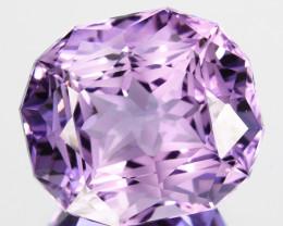 ~CUSTOM CUT~ 9.55 Cts Natural Purple Amethyst Fancy Cushion Bolivia