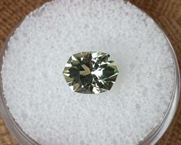 1,58ct Green Beryl - Master cut!