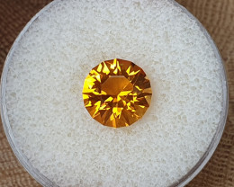 4,32ct Golden Citrine - Master cut!