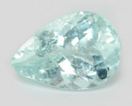 0.98 Cts Copper Bearing Natural Blue Green Paraiba Tourmaline