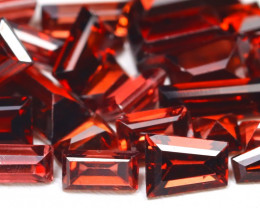Malaya Garnet 8.44Ct Fancy Cut Natural Malaya Garnet Lot AB5455