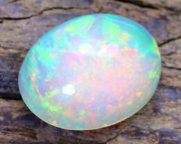 Welo Opal 1.55Ct Natural Ethiopian Flash Color Welo Opal B5510