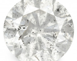 1.30 Cts Untreated Fancy White Color Natural Loose Diamond