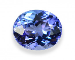 1.28 Cts Wonderful Lustrous Natural Tanzanite