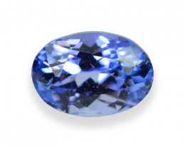 1.22 Cts Wonderful Lustrous Natural Tanzanite