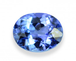 0.92 Cts Wonderful Lustrous Natural Tanzanite
