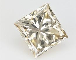 0.29 cts , Loose Diamond Solitaire , Princess Brilliant Cut