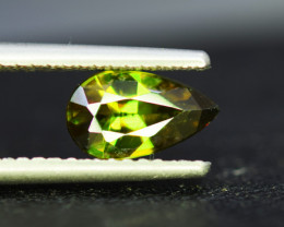 1.55 CT AAA Quality Full Fire Color Change Natural Sphene Titanite Gemston