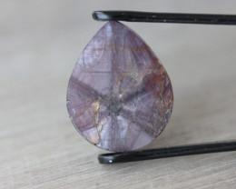 Ruby trapiche 16,72 carats