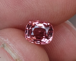 UNHEATED 1.04 CTS NATURAL BEAUTIFUL PADPARADSCHA COLOR SPINEL MOGAK BURMA