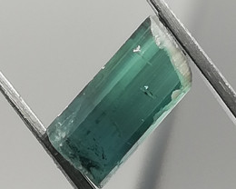 Tourmaline, 1.57ct, awesome colour, pretty little gemstone from Afghanistan