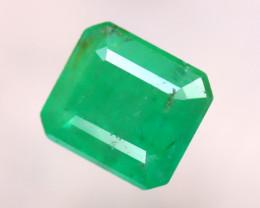 Emerald 2.05Ct Natural Zambia Green Emerald E1315/B38