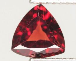 1.10 Cts Unheated Natural Deep Red Rhodolite Garnet Gemstone