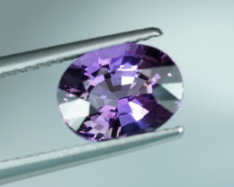 2.06CT HOT LILAC COLOR UNHEATED TANZANITE $1NR!