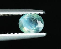 .51CT INTENSE BLUE-GREEN NATURAL ALEXANDRITE $1NR!
