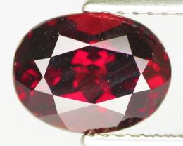 2.80 Cts Unheated Natural DeepRed Rhodolite Garnet Gemstone
