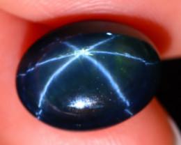 Star Sapphire 8.10Ct Natural 6 Rays Blue Star Sapphire ES1318/A39