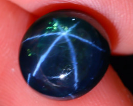 Star Sapphire 8.38Ct Natural 6 Rays Blue Star Sapphire ES1321/A39
