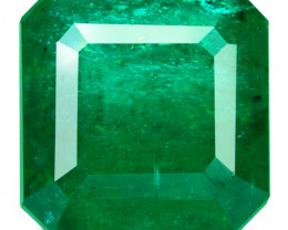 Emerald Colombian 1.79 Cts Natural VIVID GREEN Loose Gemstone