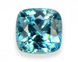 2.196 Cts Dazzling Lustrous Cambodian Blue Zircon