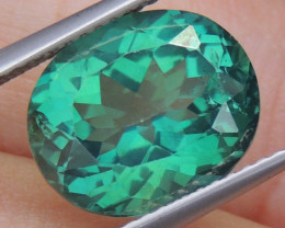6.43cts, Green Topaz,  Calibrated