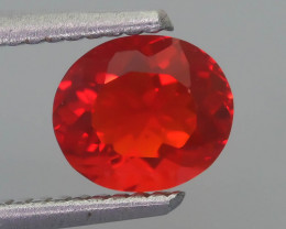 Rare 0.86 ct Mexican Fire Opal SKU.10