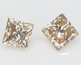 2/0.29 cts  , Square Diamond , Beautiful Diamond gemstone
