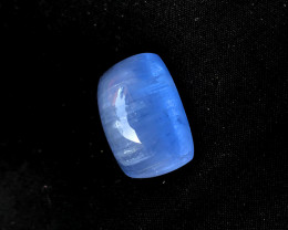 25.05 Carats Aquamarine  Natural Cats eye Cabochon
