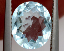 2 CTS AQUAMARINE FACETED STONE  PG-335