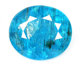 *NoReserve* Neon Blue Apatite 1.80 Cts Unheated Natural Gemstone