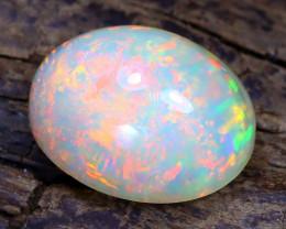 Welo Opal 1.36Ct Natural Ethiopian Flash Color Welo Opal B5726
