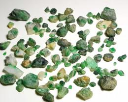 Beautiful Natural color Swat Rough Emerald with Matrix parcel 250 Cts-L-003