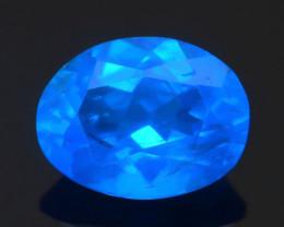 Blue Apatite 1.56  ct Amazing Luster SKU.17
