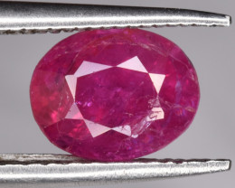 Unheated Natural Ruby 1.40 CTS Gem
