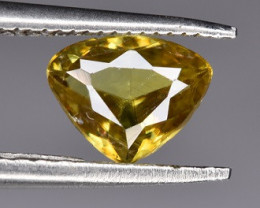 A Beautiful Fire Sphene 0.60 CTS Gem