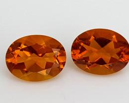 2.48Crt Madeira Citrine Natural Gemstones JI101
