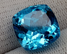 19CT BLUE TOPAZ  BEST QUALITY GEMSTONE IIGC01