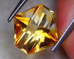 4.33ct Natural Yellow Citrine Fancy Cut Lot P371