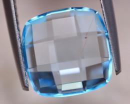 5.80Ct Natural Blue Topaz Cushion Cut Lot LZ7308
