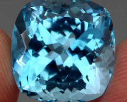 21.54  ct. 100% Natural Earth Mined Top Quality Blue Topaz Brazil