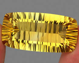 70.24 ct. Top Quality Natural Golden Yellow Citrine Brazil Unheated
