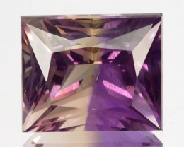 ~CUSTOM CUT~ 6.54 Cts Natural Bi-Color Ametrine Fancy Princess Bolivia