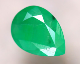 Emerald 1.33Ct Natural Zambia Green Emerald  E1509/B38