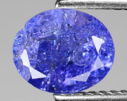 1.50 Cts Amazing rare Violet Blue Color Natural Tanzanite Gemstone