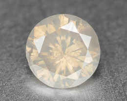 0.27 Cts Untreated Fancy Yellowish Grey Color Natural Loose Diamond