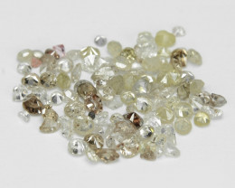 1.03 Cts Untreated Fancy Mix Color Natural Loose Diamonds