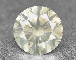 0.16 Cts Untreated Fancy Yellowish Grey White Color Natural Loose Diamond