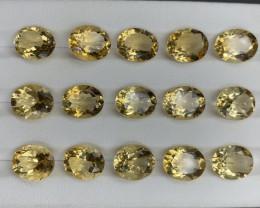 49.61 CT Citrine Gemstones parcel