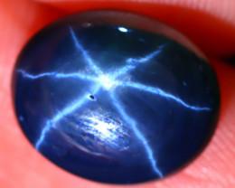Star Sapphire 7.09Ct Natural 6 Rays Blue Star Sapphire ES1504/A39
